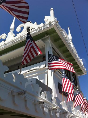 Flags on the Twain