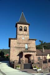 Vista exterior de la iglesia de San Gil