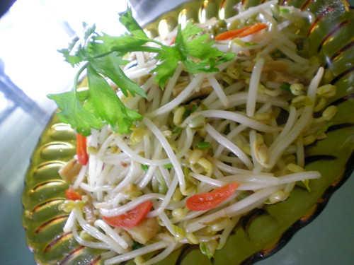 STP's fried bean sprouts with salted fish 1