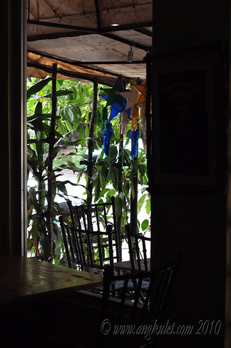 View of the outdoor tables - Cocina Juan