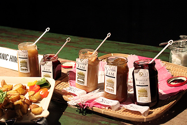 Organic Himalaya Jams and Honey