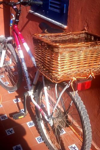 La bici con la cesta incorporada
