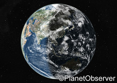 Globe centred on Asia and Oceania - Satellite ...