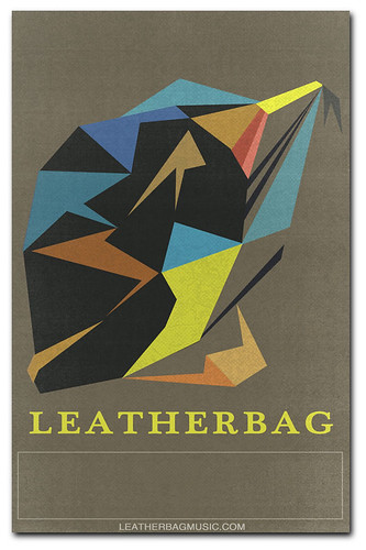 Blank Gigposter for Leatherbag