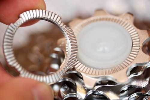 Capreo cassette lock ring