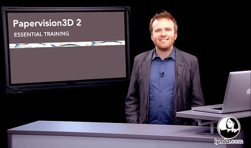 Papervision3D Essential Training at Lynda.com