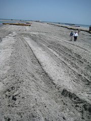 Governor Jindal Tours Sand Berms Protecting Lo...
