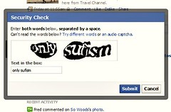 'Only Sufism' Facebook capcha