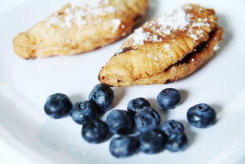 blueberry fried pie