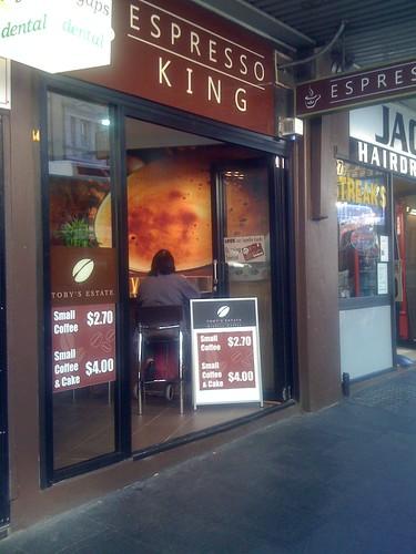 Espresso King, Sydney CBD