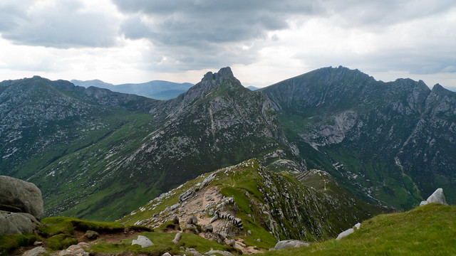 Cir Mhor from North Goatfell