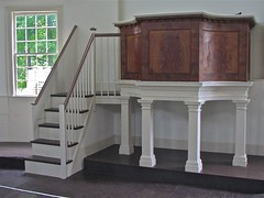The Old Round Church (1813) – pulpit
