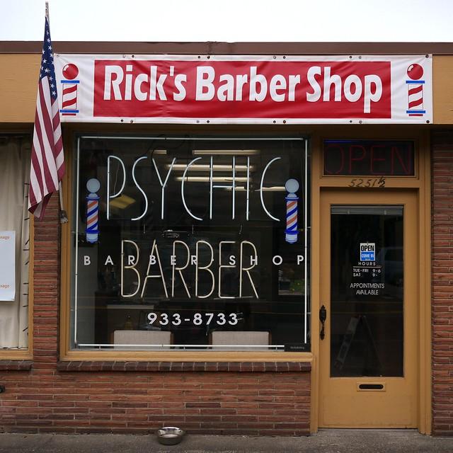 Psychic Barber
