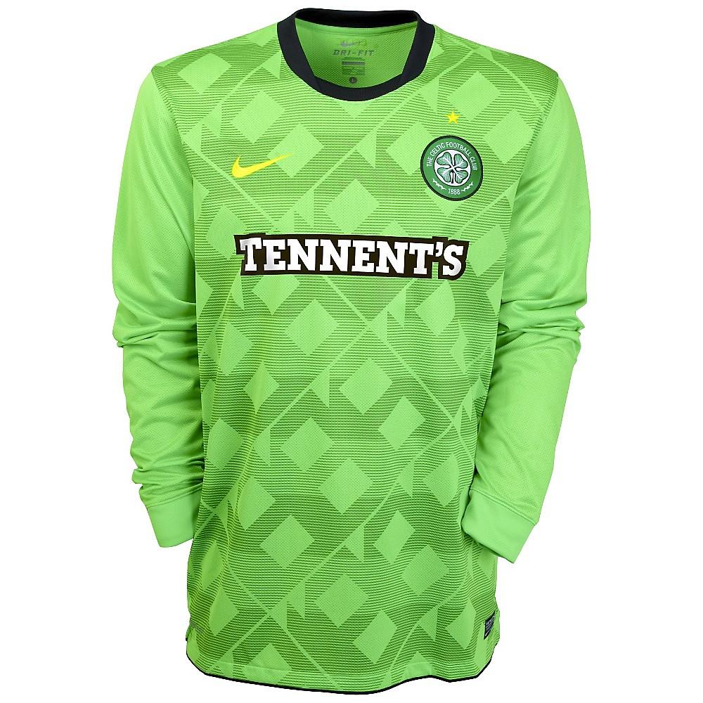 Celtic FC Nike 2010/11 Away Kit / Jersey - FOOTBALL ...