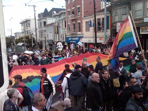 Prop 8 overturned! Harvey Milk and the Castro's Rainbow flag