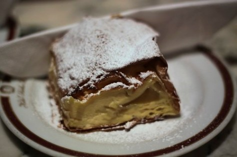 Apple Strudel at Hotel Sacher