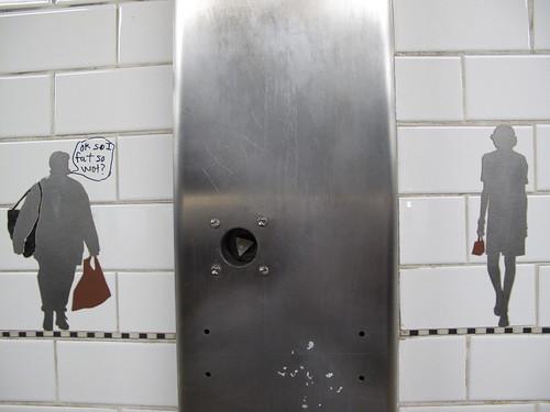 subway tile art + graffiti
