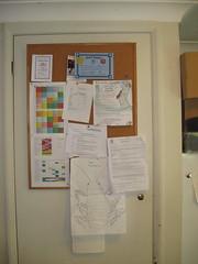 Notice board culled