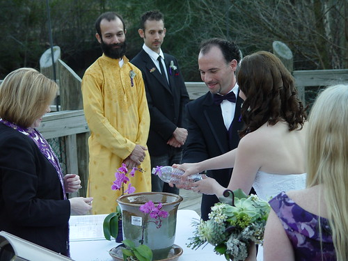 Wedding Weekend - American Chestnut Unity Ceremony - Ryan and Vicky Water (by Liza Franco)