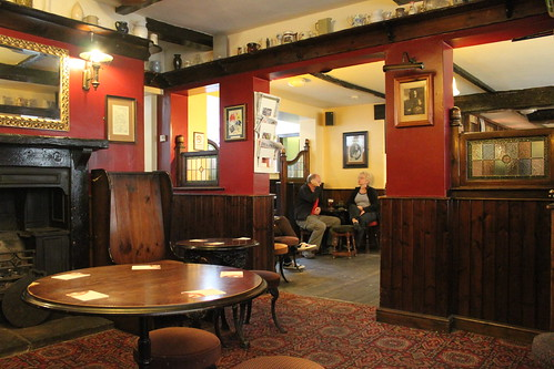Inside the Ackhorne public house, York