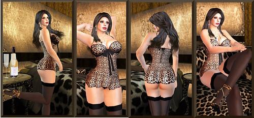 Carrie's Lingerie: Leopard