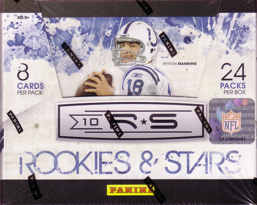 2010 Panini Rookies & Stars box