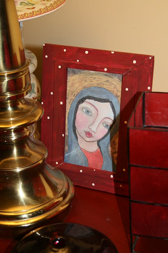 Primitive Style Madonna gift