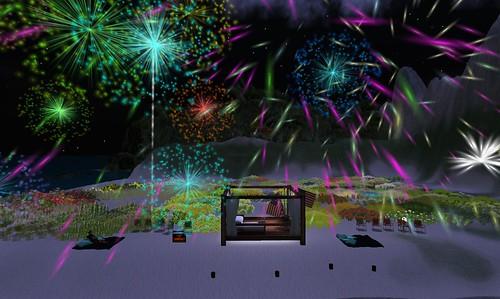 SL Fireworks show