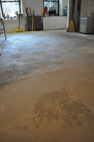 lumpy floor