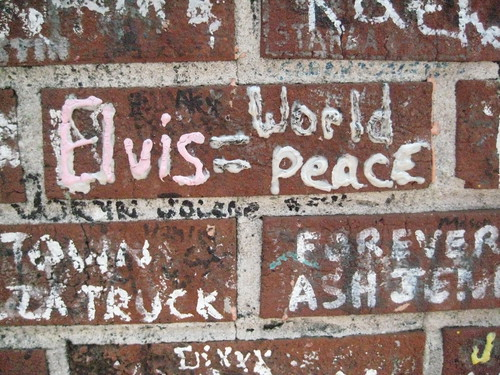 Graceland walls