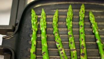 Grilled asperagus