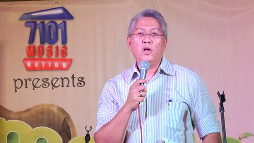 Ryan Cayabyab at the launching of Elements (1st National Songwriting Camp)