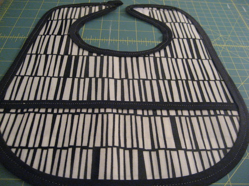 Oil cloth bib 1