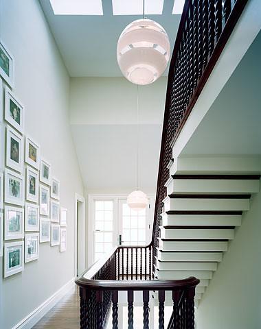 Ellen Hamilton stairwell