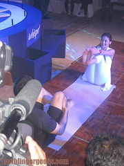 Anne Curtis doing yoga