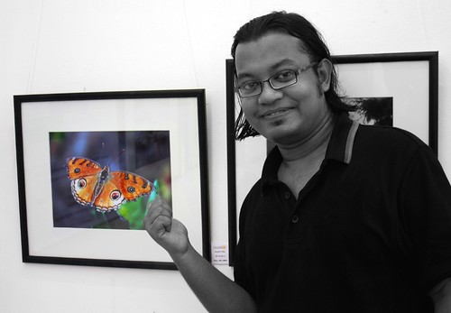With My Butterfly!