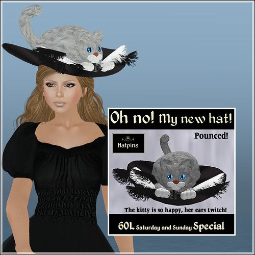 Hatpins - Oh No My New Hat - Sixty Linden Weekend