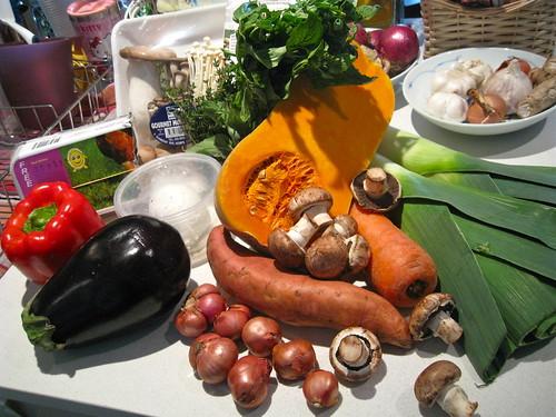 Week's produce