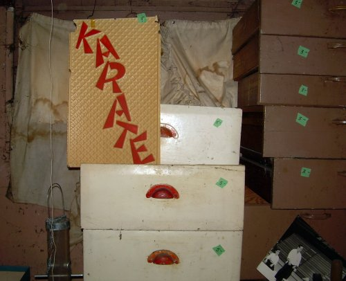 Karate and drawers