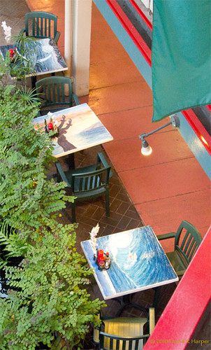 Maui 2010:  Painted Tables