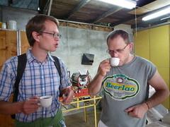 Kaffee-Experten unter sich