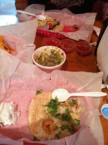 Shrimp taco @ Fiesta Mexican Grill