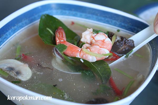 Tomyam Seafood Soup