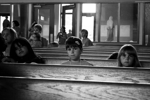 heads in the pews
