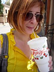Laura Drinks Limeade