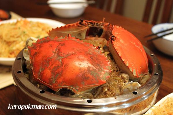 Steamed Crab Bee Hoon