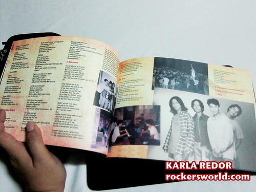 Eraserheads Box Set Photos: The Book has lyrics!