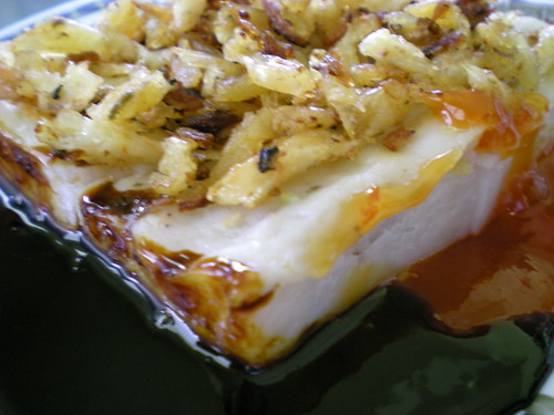 Steamed yam cake - Penang style 1