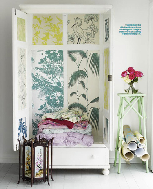 Wallpaper Cabinet by Shannon Fricke