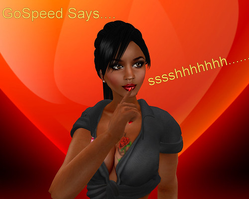 GoSpeed Says ssshhh